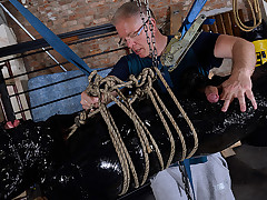 The Most Elaborate Handjob For Twink Slave..