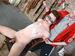 Blindfolded Boy Butt Fucked! - Dylan Strike..