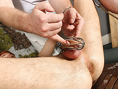 Anal Play Added to Milking Be required of Jacob - Jacob Daniels Added to Sebastian Kane