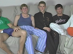 Five Boy Jerk Coupled with Drag inflate Prizefight - Blair, Jayce, Sean, Tyler and Tyler